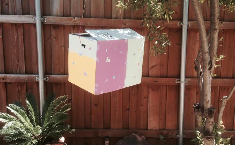 Repurpose a Cardboard Box – Make aPinata